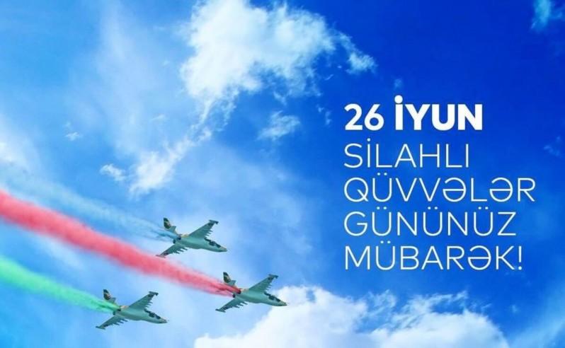 26 iyun - Azərbaycan Respublikası Silahlı Qüvvələri Günüdür