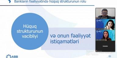"""BDU-da tələbə və məzunlar üçün """"Peşəkar bank işçisi"""" mövzusunda təlim keçirilib"""